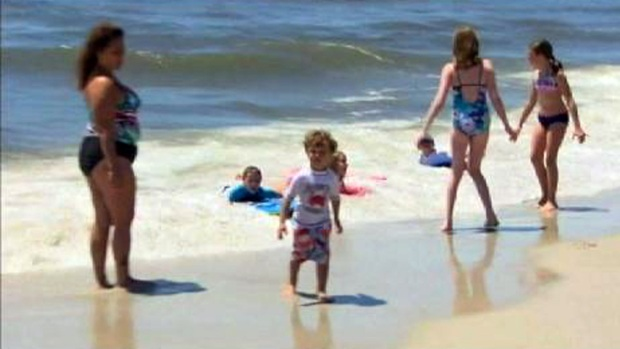 Rip Current Danger for Holiday Weekend