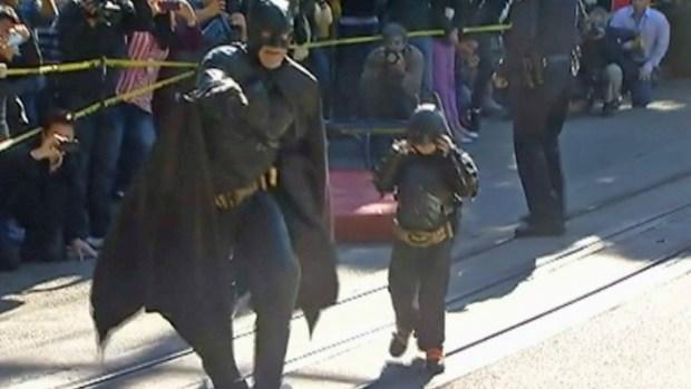 [BAY] San Francisco Turns into Gotham City for Batkid