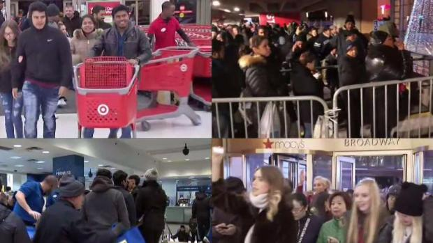 [NY] 115 Million People Expected to Shop on Black Friday