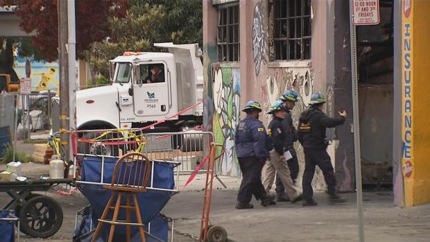 [BAY] Oakland Warehouse Lacked Fire Alarm, Suppression System: ATF