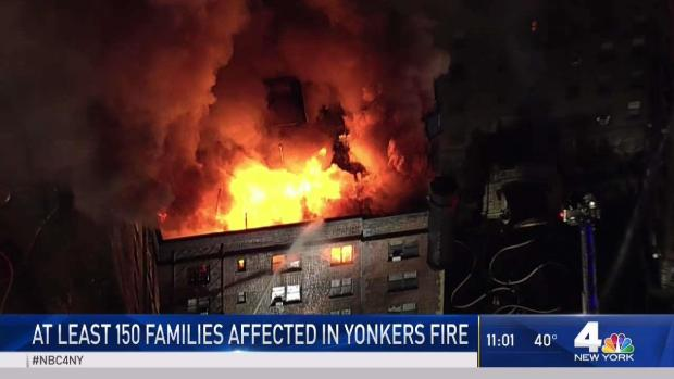 [NY] 150 Families Displaced by Raging Yonkers Fire