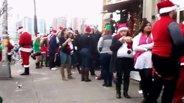 [NY] 17 Arrested at Hoboken SantaCon