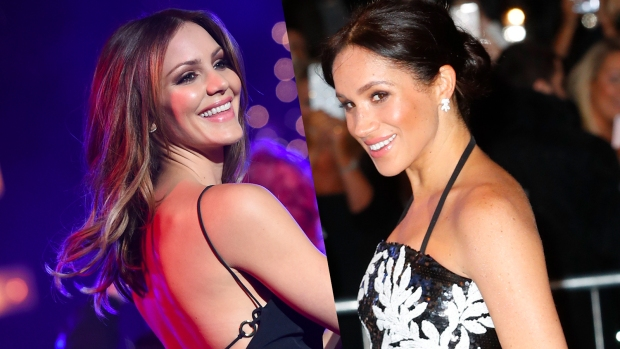 [NATL] Katharine McPhee Shares Epic Childhood Throwback Pic With Meghan Markle