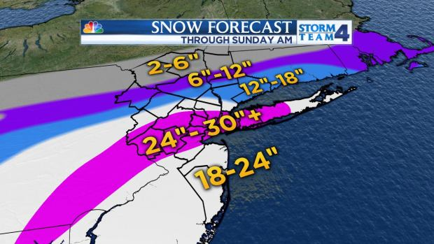 Storm Team 4: Blizzard Totals, Future Outlook