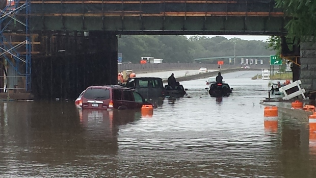 PHOTOS: Flash Flooding on Long Island