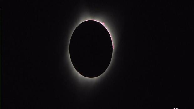 [NY] Solar Eclipse Reaches Totality