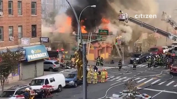 [NY] 4 Firefighters Hurt Battling Inwood Blaze