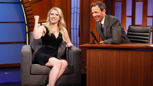 "[NATL] Meyers: ""SNL"" Star Kate McKinnon Talks Favorite Characters"
