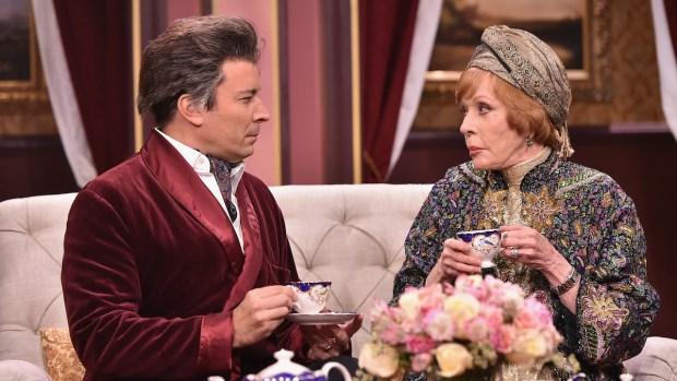 "[NATL] Jimmy Fallon and Carol Burnett in ""Tensions"" Soap Opera"