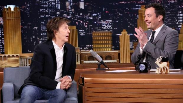 [NATL] Paul McCartney Names His Favorite Ringo Starr Songs