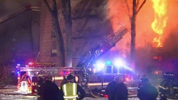 [NY] 48 Homes Incinerated in Massive Fort Lee Building Fire