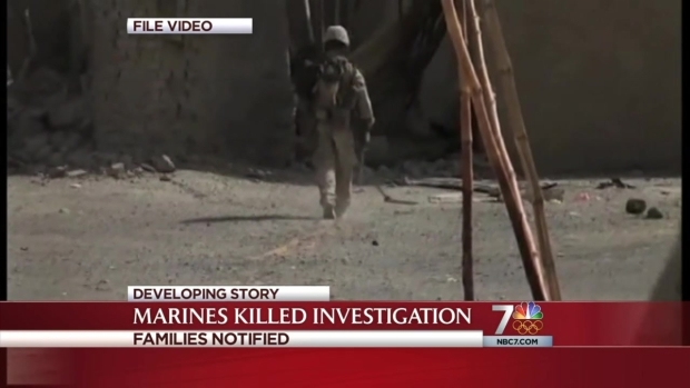[DGO]Families Notified of Marine Deaths