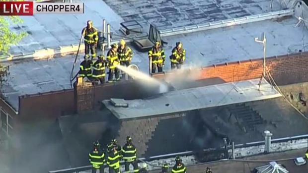 [NY] 7 Hurt in Raging Queens Blaze