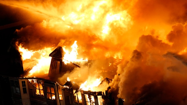 Dramatic Images: Inferno Consumes Luxury Apartment Complex in New Jersey