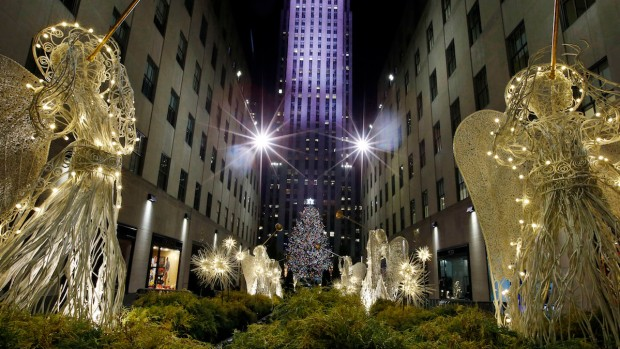 2014 Rockefeller Tree Lighting