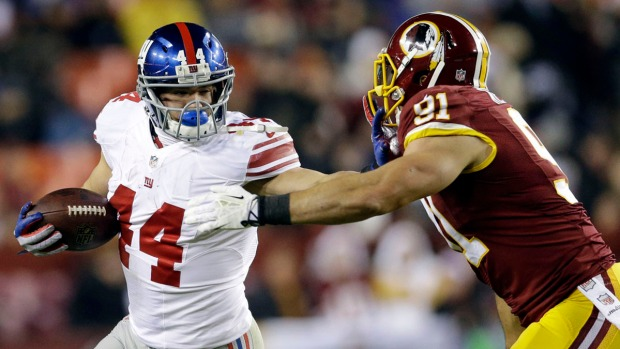 Game Photos: Giants-Redskins
