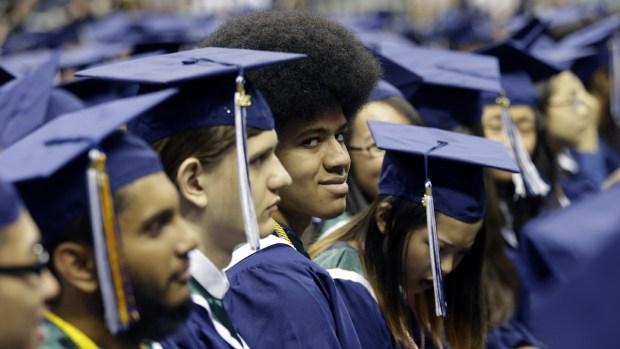 [NY] Dante de Blasio Graduates from High School