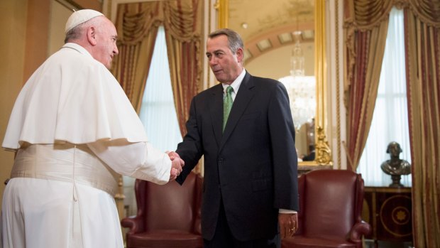 Speaker Boehner Brought to Tears By Pope