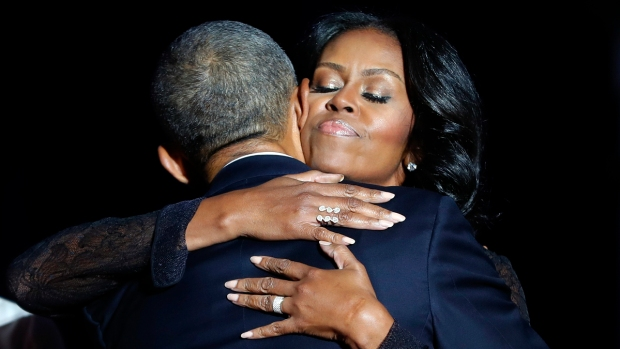 [NY] Tearful President Obama Thanks Wife Michelle: 'You Have Made Me Proud, and You Have Made the Country Proud'