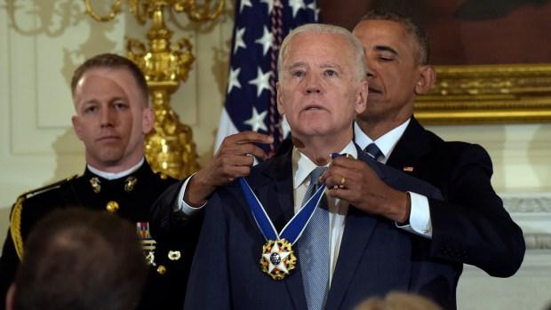[NY] Vice President Joe Biden Speaks After Being Awarded Presidental Medal of Freedom