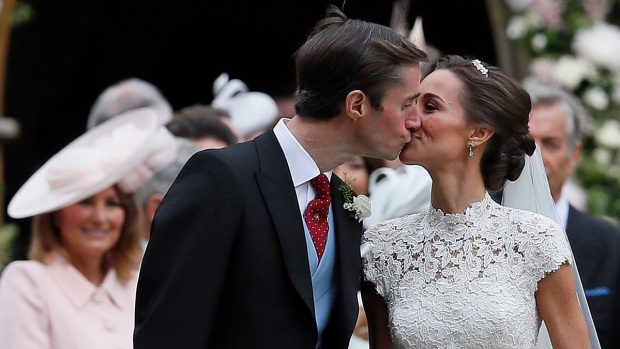 Pippa Middleton wedding: By Royal Appointment warrants used for celebration