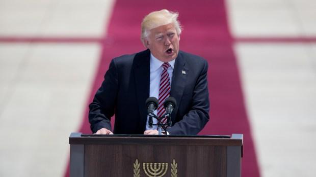 Trump seals $110 billion arms deal with Saudi Arabia with awkward dance