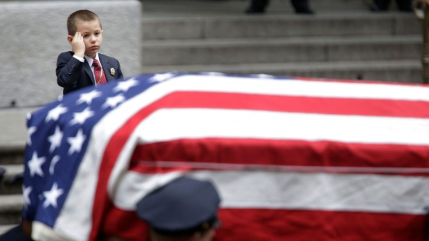 Emotional Goodbye to NYPD Detective Killed in Afghanistan Attack