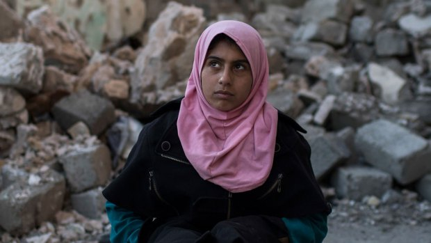 [NATL] Teenage Girl Emotionally Shattered After Mosul Fighting