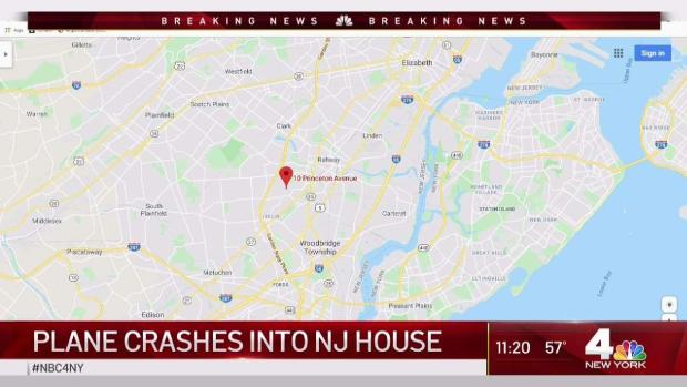 [NY] Aircraft Crashes Into Houses in New Jersey