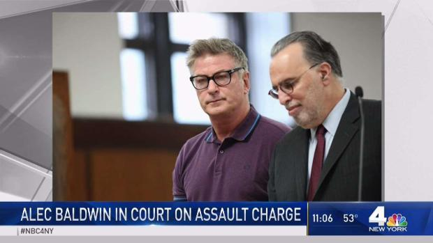[NY] Alec Baldwin in Court on Assault Charge