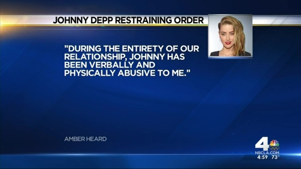 [LA] Amber Heard Gets Restraining Order Against Johnny Depp