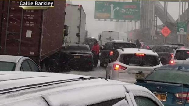 [NY] Angry Travelers Play Blame Game for Snowy Nightmare Commute