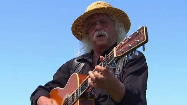 [NY] Arlo Guthrie Revisits Woodstock Fifty Years Later