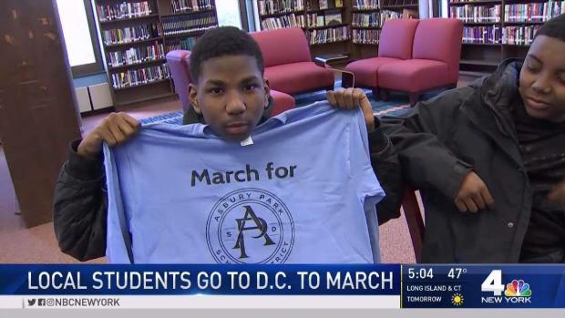 [NY] Asbury Park Students Heading to Washington for Rally