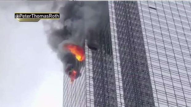 [NY SPEC] Authorities Probe Deadly Trump Tower Fire as Victim Is ID'd