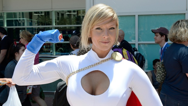 Images: Babes of Comic-Con