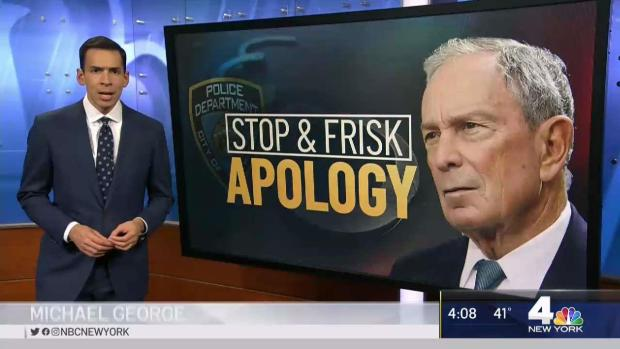 [NY] Bloomberg Apologizes for 'Stop and Frisk' Policy