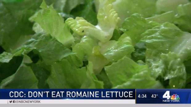 [NY] CDC Warns Don't Eat Romaine Lettuce
