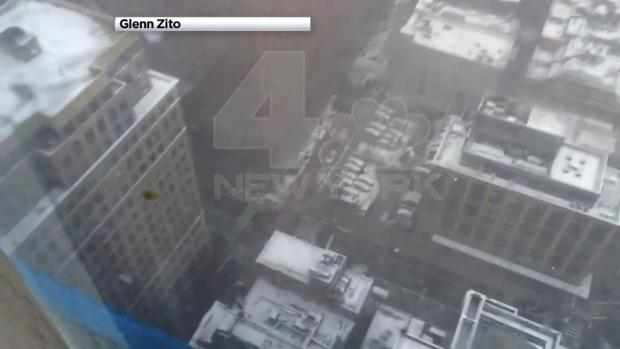 [NATL-NY] WATCH: Viewer Video Shows Crane Topple Over in Lower Manhattan