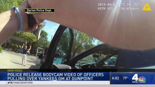 [NY] CT Police Release Video of Cops Stopping Yankees GM