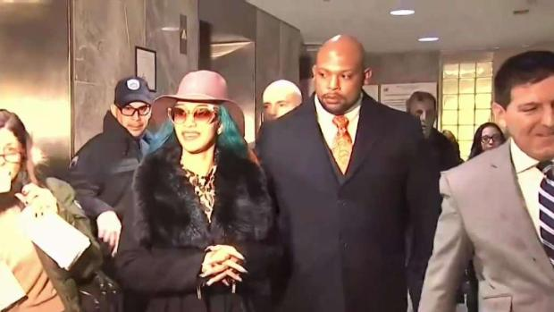 [NY] Cardi B Appears in Court Ahead of Show at MSG