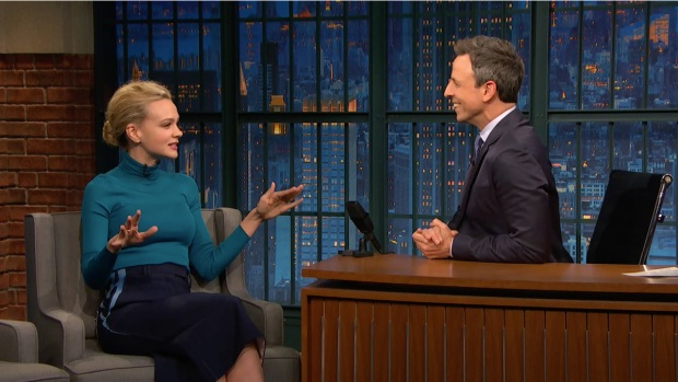 [NATL] 'Late Night': Carey Mulligan Doesn't Tell People She's an Actress
