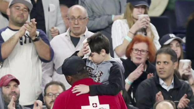 [NY] Child Hit by Bat at Yankee Stadium