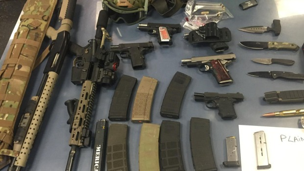 3 Arrested After Weapons Cache Found in Truck at Holland Tunnel