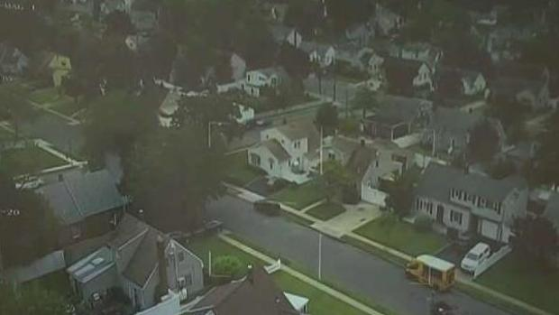 Crew Use Drone to Survey Storm Damage on Long Island