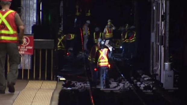 [NY] Crews Still Making Repairs After NYC Subway Train Derails