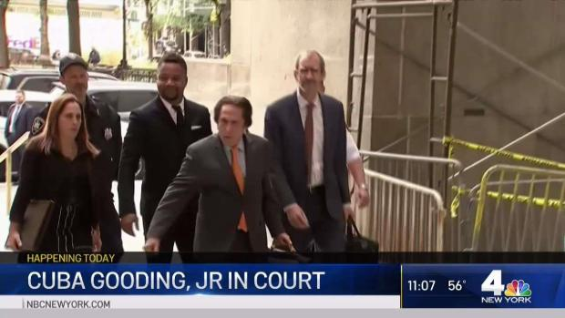 [NY] Cuba Gooding Jr. in Court for Arraignment