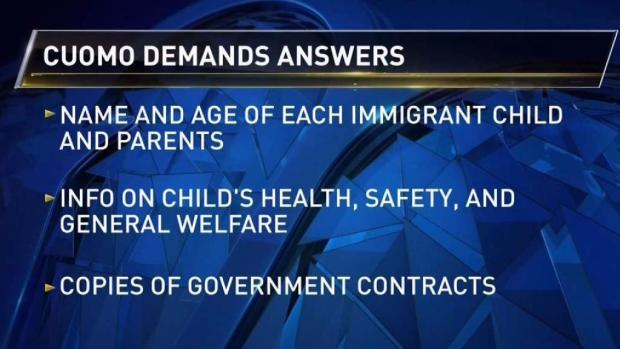 [NY] Cuomo Issues NY Agencies Caring for Migrant Kids Ultimatum