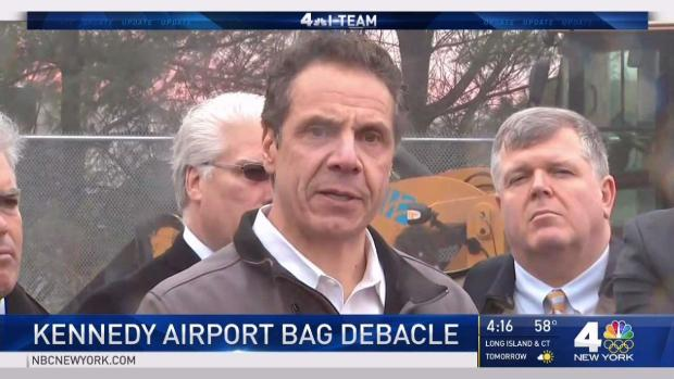 Cuomo Says Many to Blame in JFK Debacle