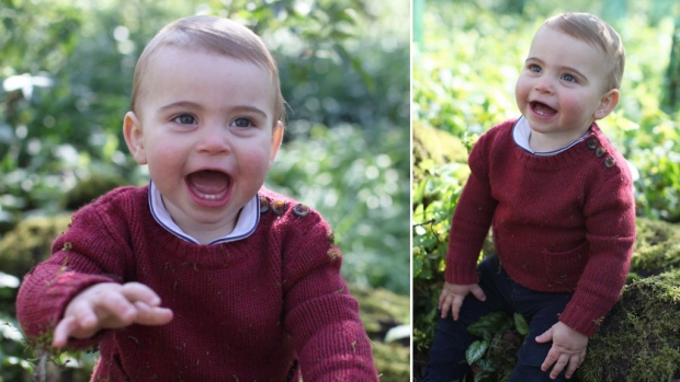The Royal Family: New Louis Photoset Ahead of 1st Birthday
